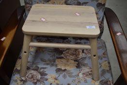 An Ikea 'Vilto' stool