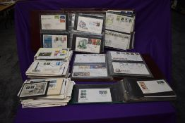 A large collection GB First Day Covers, 1960's and later in albums and loose