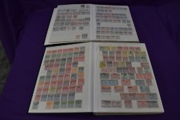 Two Stock Book of British Commonwealth Stamps, early & modern, mint & used