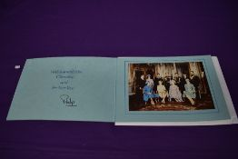 A 1970's Royal Family Christmas presentation card, bearing signature from Prince Philip
