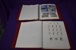 Two albums of Alderney and Guernsey Stamps, 1970's onwards, unmounted mint and mint