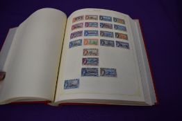 An Album of Commonwealth Stamps, Mint and Used, mainly George V to Queen Elizabeth, good stamps