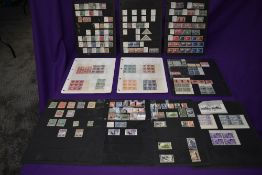 A collection on Ten Stock Cards of Commonwealth Stamps, mainly pre 1950's, mint and used,