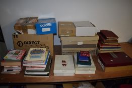 A large collection of used Stamps, Kiloware, Reference Books, Covers, Stamp albums etc