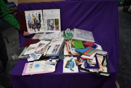 A large box of Commonwealth and Royalty Stamps, including GB & Australian Presentation Packs,