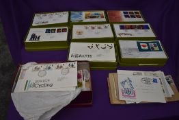A collection of GB First Day Covers 1960's to 2008, mainly Bureau Handstamps