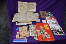A collection of Stamps, Newspapers, Bank Notes, Ephemera etc including GB & World Stamps with