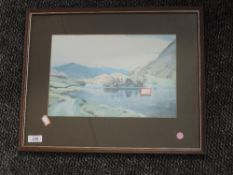 A print, after William Heaton Cooper, Rydal Water, 20 x 31, framed and glazed
