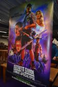 A large cinema poster for the iconic 'Scouts Guide to the Zombie Apocalypse'