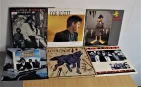 A lot of six various albums with Long Ryders , Los Lobos and more - some nice items in this lot