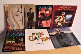 A lot of seven Eric Clapton albums