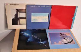 A lot of five Dire Straits albums - original pressings