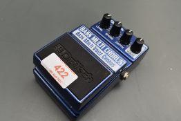 A DigiTech Bass Multi Chorus effects pedal