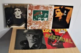 A lot of five albums by Lou Reed / Velevet Underground interest
