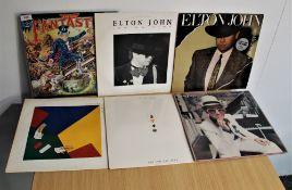 A lot of six albums by Elton John