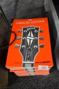 A selection of Gibson guitar reference books (ex shop stock)