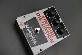 A Behringer Model VD1 , Vintage Distortion effects pedal