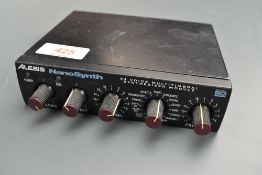 An Alesis Nano Synth, 64 voice multitimbral synthesizer module