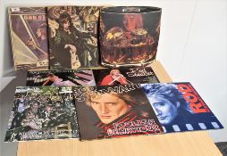 A lot of seven albums by Rod Stewart