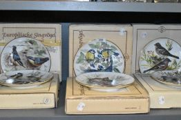 A selection of ceramic display plates by Tirschenreuth WWF