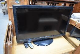 A Panasonic 37in LCD TV