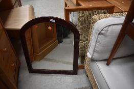 Two vintage wall mirrors