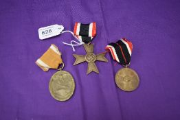 A German 1939 Merit Cross Medal, A German WW2 Merit Medal Awarded to Citizens in Relation to the War