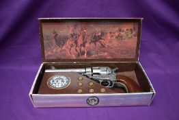 A Kolser Replica Single Action Colt Army 45, boxed