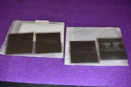 Two sets of local interest photographic negatives of Appleby and Kendal Fire Service circa 1950's
