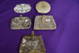 A collection of vintage beaded and sequinned evening bags,mainly 1930s and 40s.