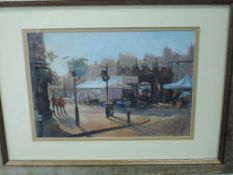 An oil painting, Robert Henfrey, Kirkby Lonsdale, signed and dated (20)08, 20 x 28cm, plus frame and