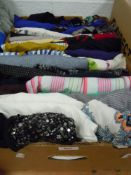 A collection of ladies tops and blouses, good quality brands such as Joules, Miss Selfridge and