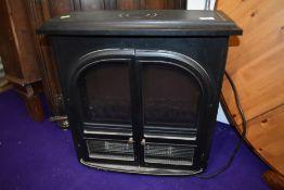 An electric woodburner effect fire