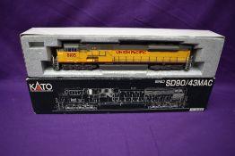A Kato HO scale Union Pacific Locomotive 8105, in original box 37-6355