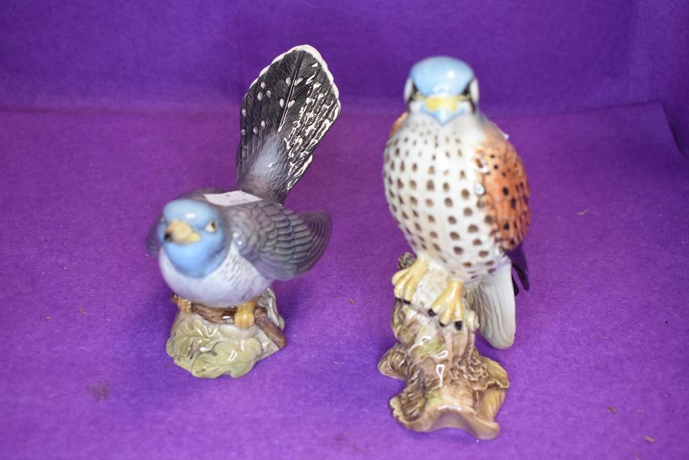 Two Beswick studies, Cuckoo, model no 2315 and Kestrel, model no 2316
