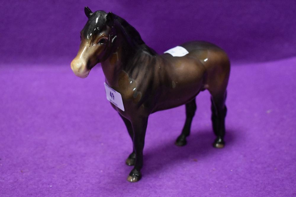 A Beswick study, Exmoor Pony, Heatherman, model no 1645