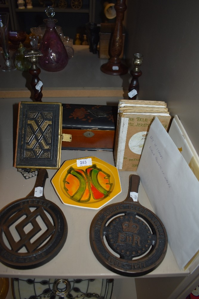 A selection of early Beatrix Potter story books including Jeremy Fisher