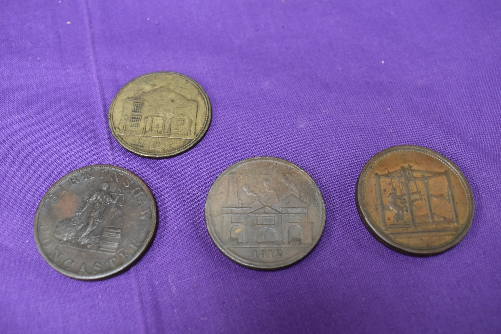 An album of GB Tokens mainly copper and bronze, approx 78 tokens, most in good condition, along with - Image 18 of 18
