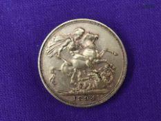 A 1894 Queen Victoria Gold Sovereign having Melbourne Mint Mark
