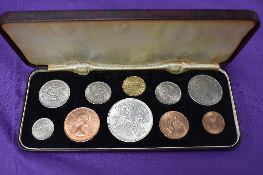 A 1953 Elizabeth II Coronation Specimen Coin Set and a 1966 Elizabeth II Specimen Coin Set - Image 5 of 5