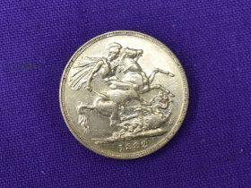 A 1882 Queen Victoria Gold Sovereign having Melbourne Mint Mark