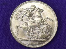 A 1911 George V Gold Sovereign