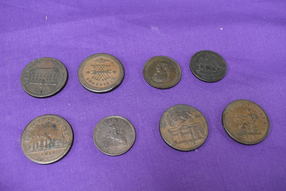 An album of GB Tokens mainly copper and bronze, approx 78 tokens, most in good condition, along with - Image 17 of 18