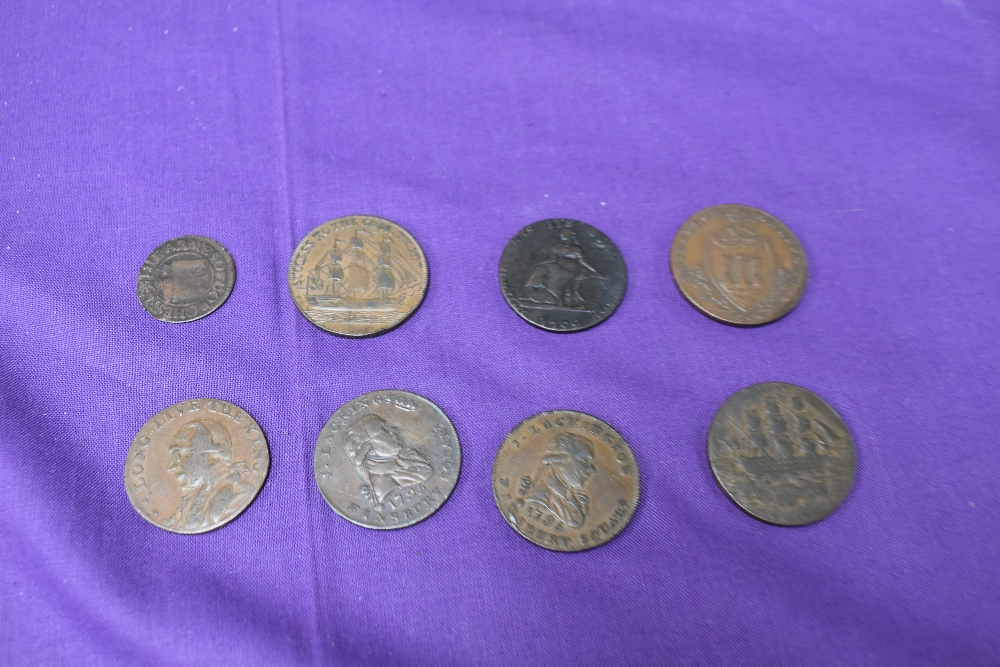 An album of GB Tokens mainly copper and bronze, approx 78 tokens, most in good condition, along with - Image 4 of 18
