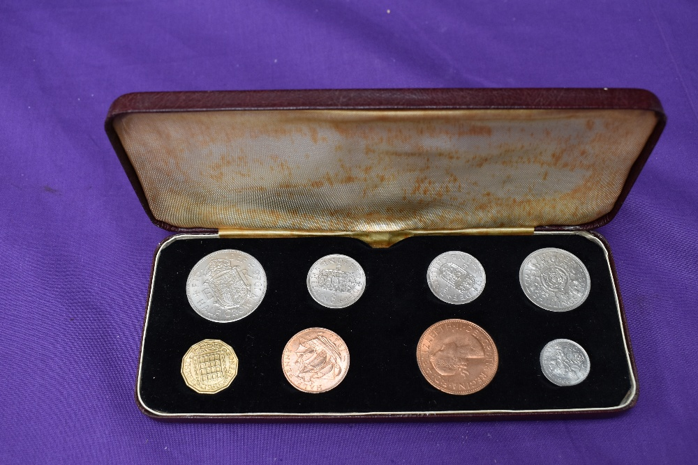 A 1953 Elizabeth II Coronation Specimen Coin Set and a 1966 Elizabeth II Specimen Coin Set - Image 4 of 5
