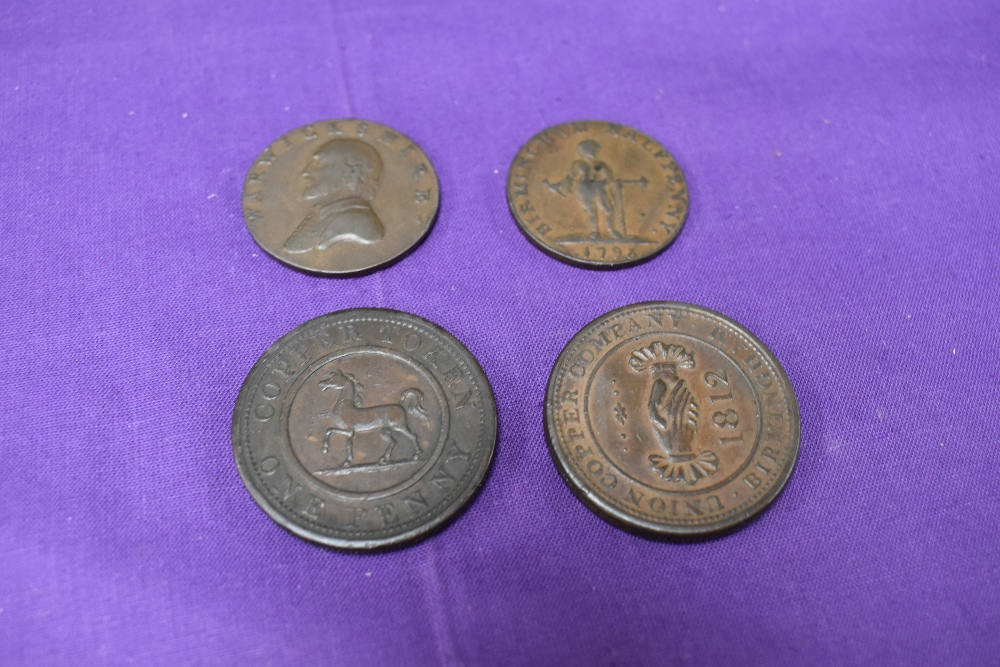 An album of GB Tokens mainly copper and bronze, approx 78 tokens, most in good condition, along with - Image 15 of 18