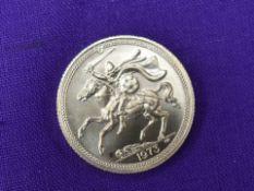 A 1973 Elizabeth II Isle of Man Gold Sovereign