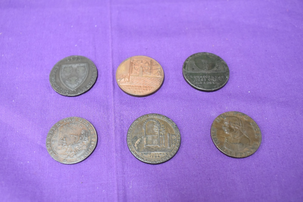 An album of GB Tokens mainly copper and bronze, approx 78 tokens, most in good condition, along with - Image 12 of 18