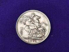 A 1909 Edward VII Gold Sovereign