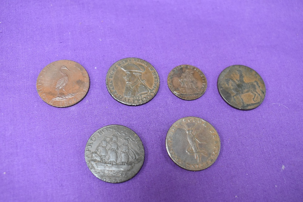 An album of GB Tokens mainly copper and bronze, approx 78 tokens, most in good condition, along with - Image 7 of 18